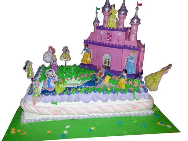 Brilliant Order Daydream With Disney Castle World Cake Online In Noida Personalised Birthday Cards Beptaeletsinfo