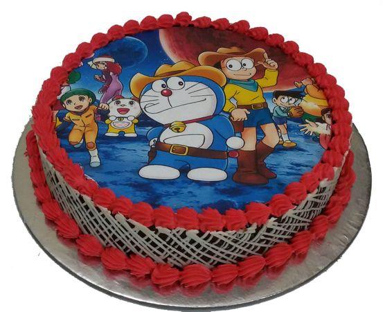 Round Photo Cake