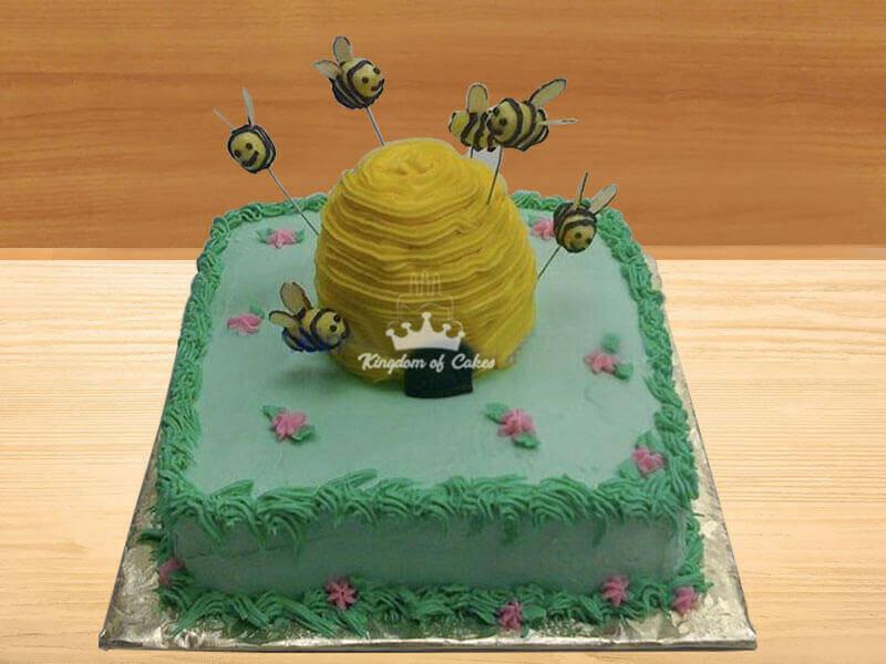 Bee Hive Garden