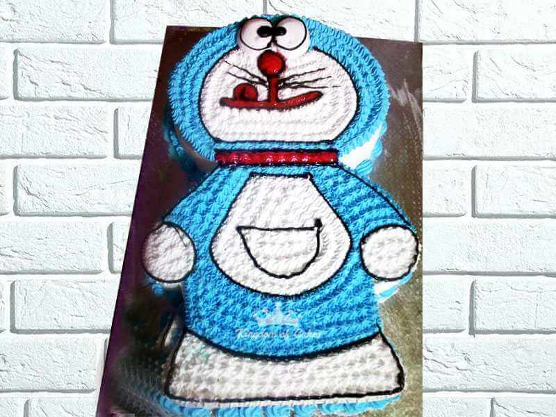 Cherry coated Doraemon
