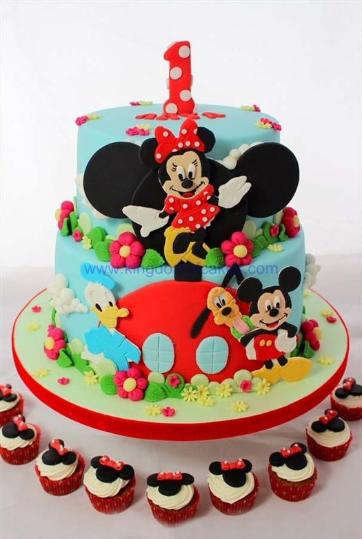 Disney World Cake From Kingdom Of Cakes