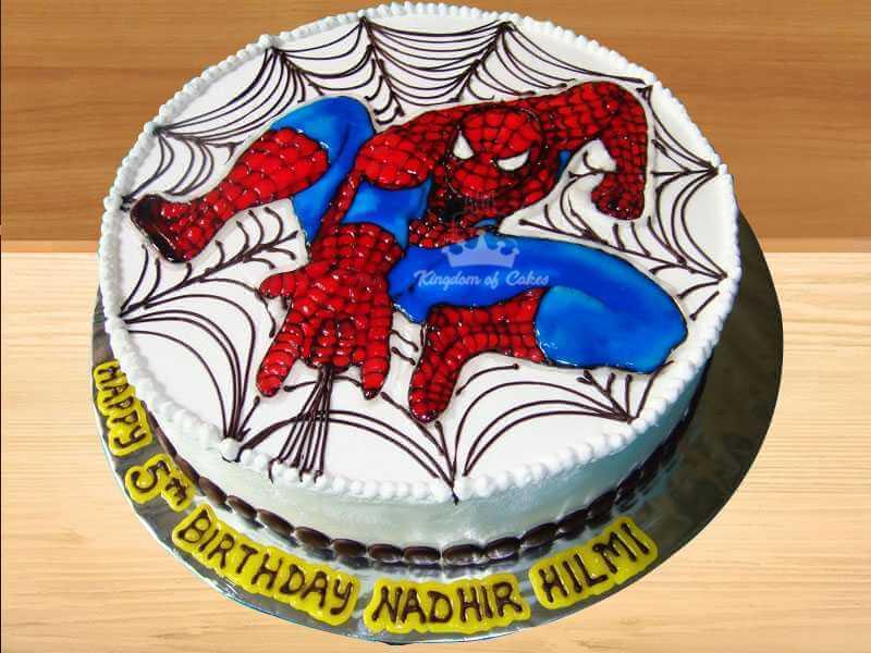 Spiderman Soaring